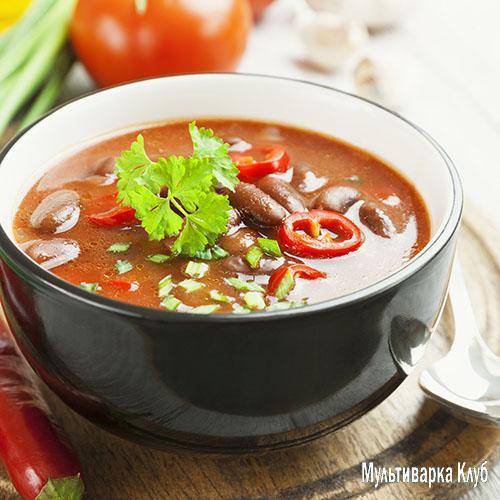 Густой фасолевый суп - кулинарный рецепт 30