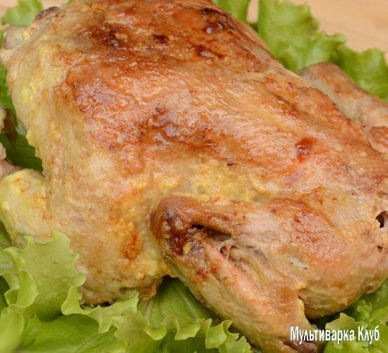 Как приготовить курицу в рукаве в мультиварке редмонд куском